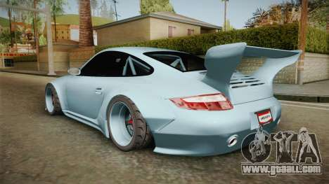 Porsche 997 Old & New 2008 for GTA San Andreas left view