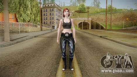 Mass Effect 3 Female SHepard for GTA San Andreas second screenshot