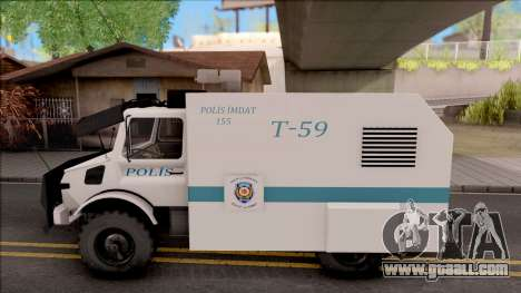 Mercedes-Benz Unimog Toma 2016 for GTA San Andreas left view