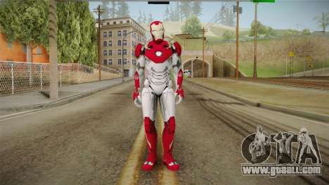 Marvel Heroes Omega - Iron Man MK47 for GTA San Andreas second screenshot