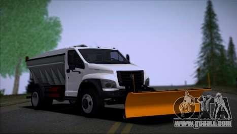 GAZon Next Snowthrower for GTA San Andreas