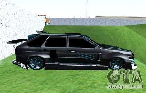 VAZ 2114 GTR SLS AMG for GTA San Andreas left view
