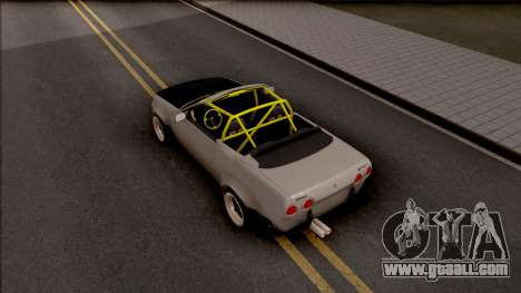 Nissan Skyline R32 Cabrio Drift Rocket Bunny for GTA San Andreas back view