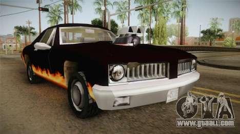 GTA SA DLC - Diablo Stallion for GTA San Andreas right view