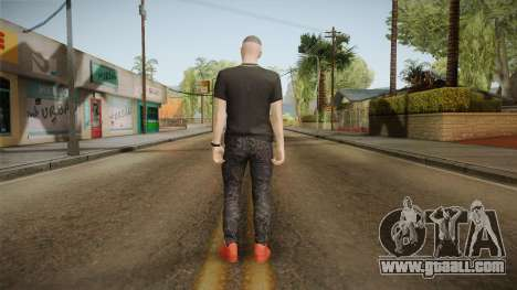 Bad Bunny Skin for GTA San Andreas third screenshot