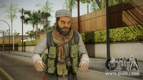 Medal Of Honor 2010 Taliban Skin v7 for GTA San Andreas