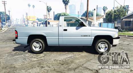 GTA 5 Dodge Ram 1500 1999 [add-on] left side view