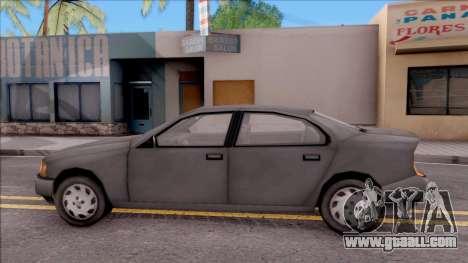 Kuruma from GTA 3 for GTA San Andreas left view