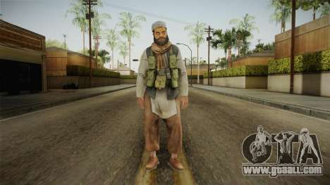 Medal Of Honor 2010 Taliban Skin v7 for GTA San Andreas second screenshot