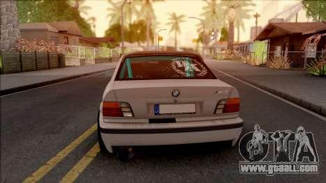 BMW M3 E36 Drift v2 for GTA San Andreas back left view