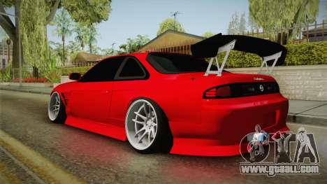 Nissan S14 240SX Front End for GTA San Andreas left view