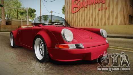 Porsche 911 RWB Speedster 1984 for GTA San Andreas right view