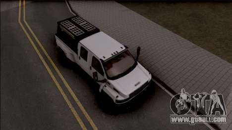 GMC Topkick C4500 Off-Road for GTA San Andreas right view