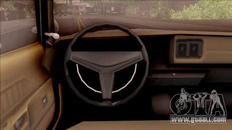 Dodge Monaco Montana Highway Patrol v2 for GTA San Andreas inner view