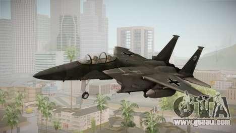 F-15 Eagle Luftwaffe 1945 for GTA San Andreas