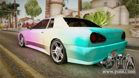 New Elegy Paintjob v2 for GTA San Andreas left view