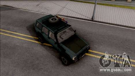Jeep Cherokee 1984 Off-Road for GTA San Andreas right view