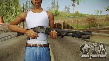 Mirror Edge Remington M870 for GTA San Andreas third screenshot
