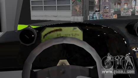 Progen GP1 SA Style for GTA San Andreas inner view