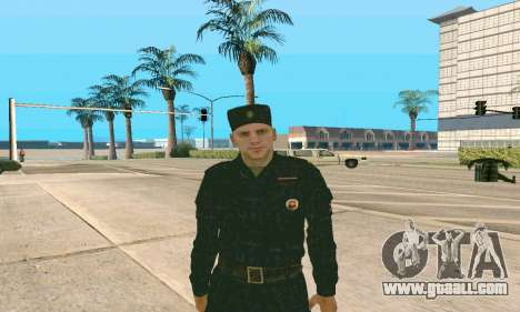 Senior Police Sergeant v.1 for GTA San Andreas