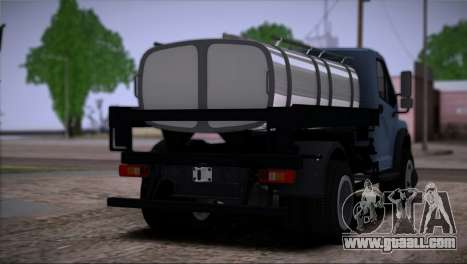 The GAZon Next Truck for GTA San Andreas left view