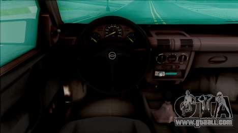 Chevrolet Corsa B Stance for GTA San Andreas inner view