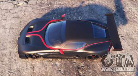 GTA 5 Aston Martin Vulcan 2016 [add-on] back view
