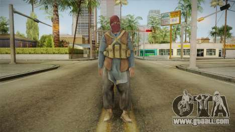 Medal Of Honor 2010 Taliban Skin v2 for GTA San Andreas second screenshot
