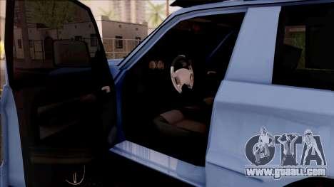 Toyota Meru Off-Road for GTA San Andreas inner view