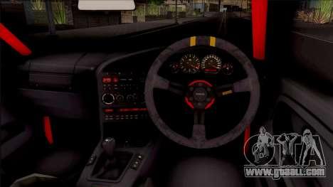 BMW M3 E36 Drift Rocket Bunny v2 for GTA San Andreas inner view