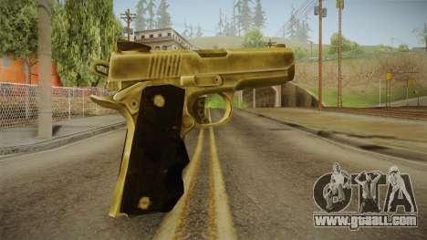 Silent Hill Downpour - Golden Gun SH DP for GTA San Andreas second screenshot