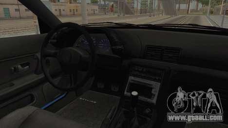 Nissan Skyline R32 Pickup Monster Truck for GTA San Andreas inner view
