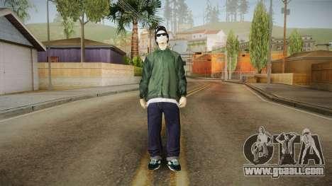 New Ryder v2 for GTA San Andreas second screenshot