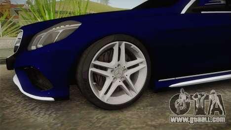 Mercedes-Benz E250 Noyan for GTA San Andreas back view