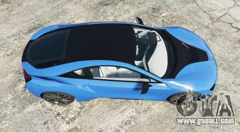 GTA 5 BMW i8 (I12) 2015 [add-on] back view