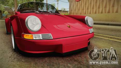 Porsche 911 RWB Speedster 1984 for GTA San Andreas upper view