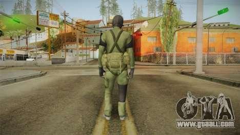 MSF Custom Soldier Skin 1 for GTA San Andreas third screenshot