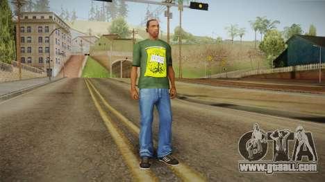 Dedsec T-Shirt for GTA San Andreas third screenshot