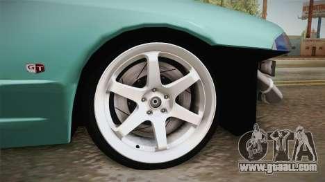 Nissan Skyline R32 Drift Falken for GTA San Andreas back view
