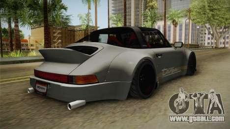 Porsche 911 RWB Terror 1982 for GTA San Andreas back left view
