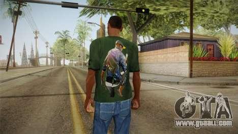 Dedsec T-Shirt for GTA San Andreas second screenshot