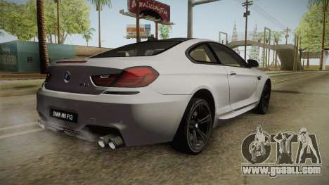 BMW M6 Coupe (F13) for GTA San Andreas left view