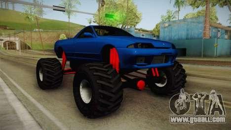 Nissan Skyline R32 Pickup Monster Truck for GTA San Andreas