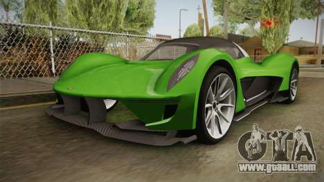 GTA 5 Dewbauchee Vagner IVF for GTA San Andreas