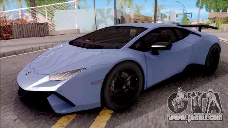 Lamborghini Huracan Performante for GTA San Andreas