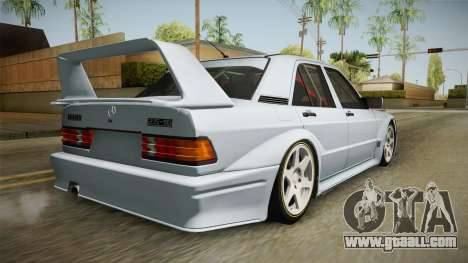Mercedes-Benz W201 190E for GTA San Andreas left view