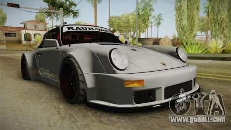 Porsche 911 RWB Terror 1982 for GTA San Andreas right view