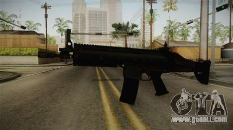 Mirror Edge FN SCAR-L for GTA San Andreas