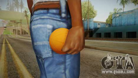 Green Goblin Classic Pumpkin Grenade for GTA San Andreas third screenshot