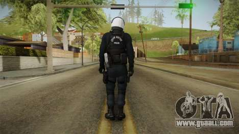 Turkish Riot Police with Gear for GTA San Andreas third screenshot